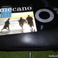Discos de vinilo: MECANO / DIS MOI LUNE D'ARGENT / SINGLE 45 RPM / ARIOLA. Lote 171049220