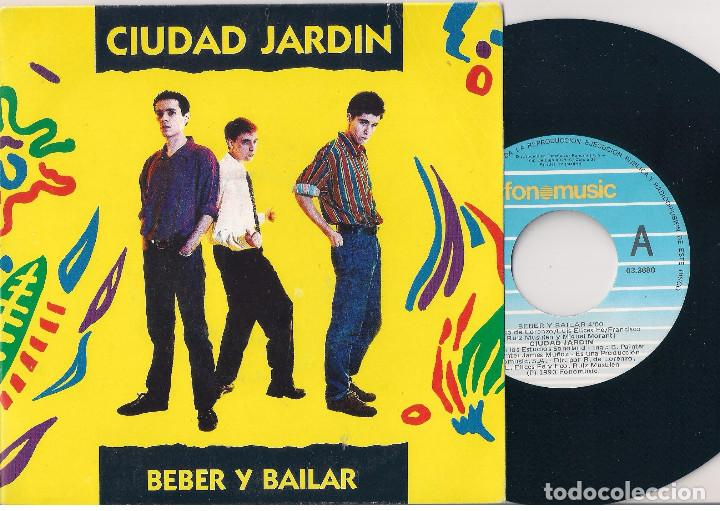 Discos de vinilo: Ciudad Jardin. Lote de 3 singles. Fonomusic/Hispavox 1989/1990/1992. - Foto 2 - 171050335