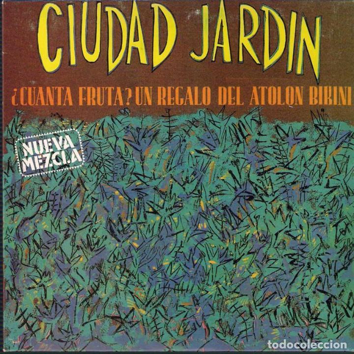 Discos de vinilo: Ciudad Jardin. Lote de 3 singles. Fonomusic/Hispavox 1989/1990/1992. - Foto 4 - 171050335