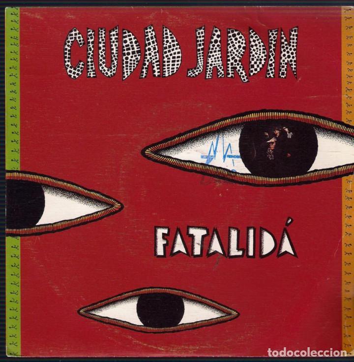 Discos de vinilo: Ciudad Jardin. Lote de 3 singles. Fonomusic/Hispavox 1989/1990/1992. - Foto 6 - 171050335