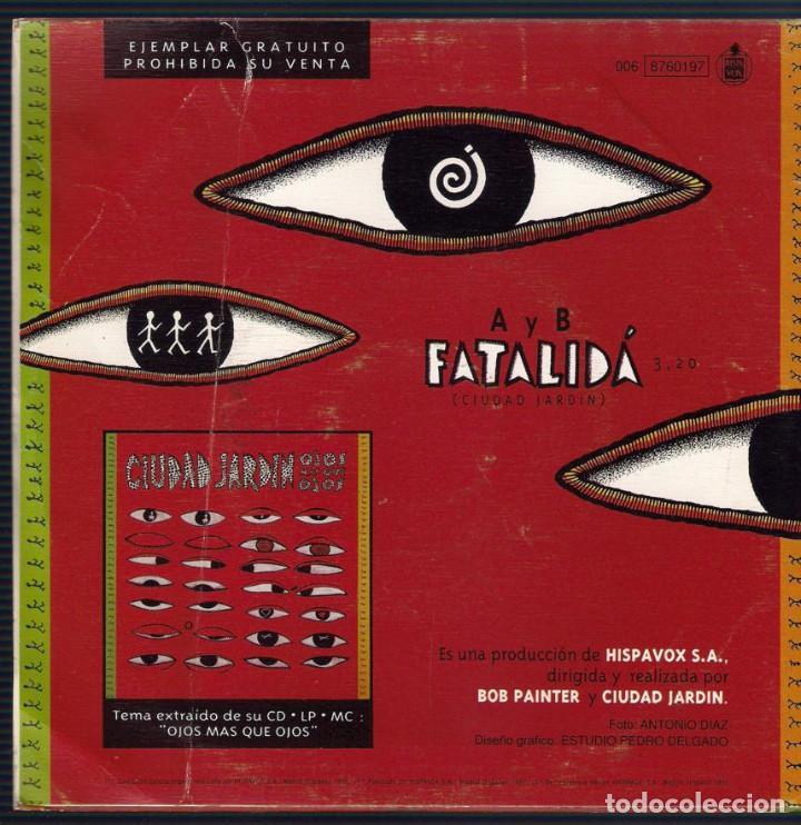 Discos de vinilo: Ciudad Jardin. Lote de 3 singles. Fonomusic/Hispavox 1989/1990/1992. - Foto 7 - 171050335