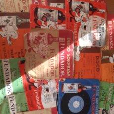Discos de vinilo: LOTE 25 DISCOS VINILO SINGLE SORPRESA FUNDADOR. Lote 171056079