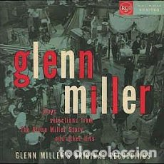 Discos de vinilo: GLENN MILLER AND HIS ORCHESTRA - PLAYS SELECTIONS FROM THE GLENN MILLER STORY AND OTHER HITS (LP, AL. Lote 171057497