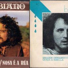 Discos de vinilo: BIBIANO. LOTE DE 2 SINGLES. CFE 1976 Y 1978. Lote 171059028