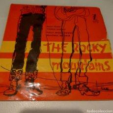 Discos de vinilo: THE ROCKY MOUNTAINS SINGLE. Lote 171060353