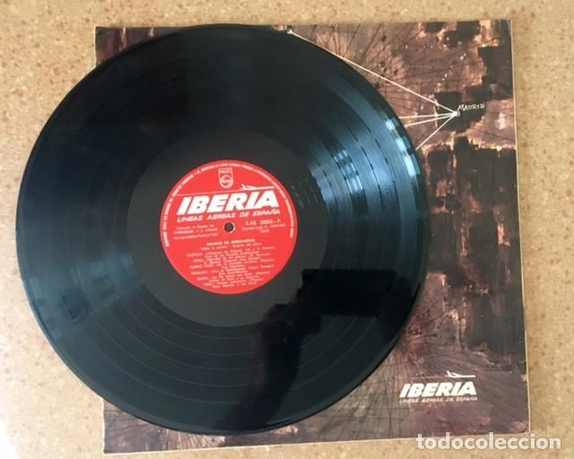 Discos de vinilo: NAVIDAD EN IBEROAMÉRICA - DISCO PUBLICITARIO DE IBERIA - MENSAJE A BELÉN DE UN PILOTO ESPAÑOL1966 - Foto 3 - 171061967