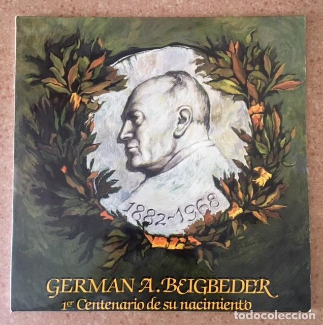 GERMÁN A. BEIGBEDER - PRIMER CENTENARIO DE SU NACIMIENTO - DOBLE LP (Música - Discos - LP Vinilo - Clásica, Ópera, Zarzuela y Marchas)