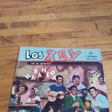 Discos de vinilo: DISCO DE VINILO DE 45RPM LOS XEY, EN LA PELÍCULA HABANERA. Lote 171066920