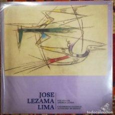 Discos de vinilo: JOSÉ LEZAMA LIMA, VOZ DEL AUTOR CUBANO. UNAM, MÉXICO. Lote 171067277