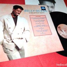Discos de vinilo: BILLY OCEAN GREATEST HITS LP 1989 JIVE GERMANY ALEMANIA. Lote 171067494