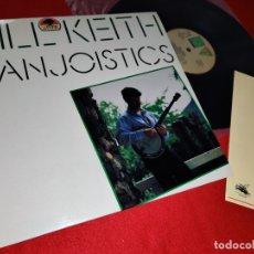 Discos de vinilo: BILL KEITH BANJOISTICS LP 1989 LANDS SPAIN ESPAÑA. Lote 171068657