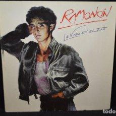 Discos de vinilo: RAMONCÍN - LA VIDA EN EL FILO - LP. Lote 171087602