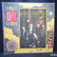 Disques de vinyle: DURAN DURAN - SEVEN AND THE RAGGED TIGER - LP. Lote 171092667