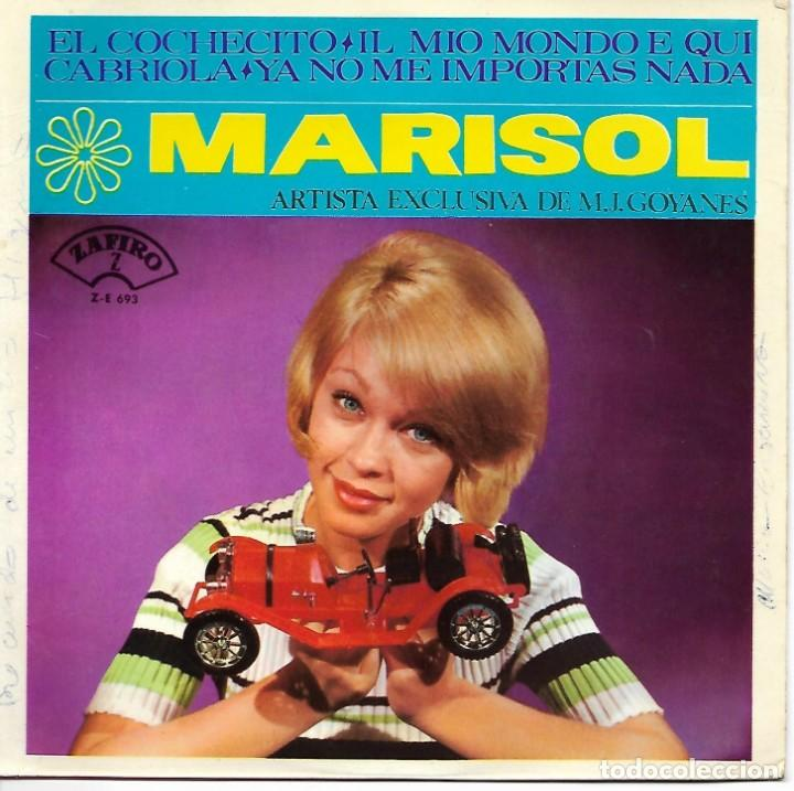 MARISOL - CABRIOLA - YA NO ME IMPORTAS NADA - EL COCHECITO - MIO MUNDO E QUI (Música - Discos - Singles Vinilo - Grupos Españoles de los 70 y 80)