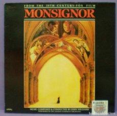 Discos de vinilo: MONSIGNOR - JOHN WILLIAMS - LP. EDICIÓN ESPAÑOLA DE 1982. Lote 171100408