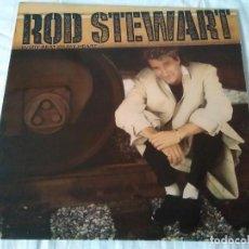 Discos de vinilo: 44-LP ROD STEWART, EVERY BEAT OF MY HEART, 1986. Lote 171105239
