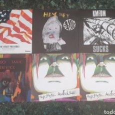 Discos de vinilo: LOTE DE 6 MAXIS AÑOS 90 - ALGUNOS RAROS Y DIFICILES. Lote 171110245