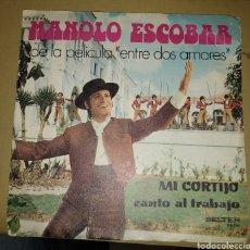 Discos de vinilo: MANOLO ESCOBAR - MI CORTIJO. Lote 202482838