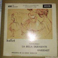 Discos de vinilo: ORQUESTA DE LA SUISSE ROMANDE - TCHAIKOWSKY. LA BELLA DURMI. Lote 171112138