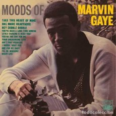 Discos de vinilo: LP MARVIN GAYE MOODS OF VINILO 180G SOUL. Lote 171114905