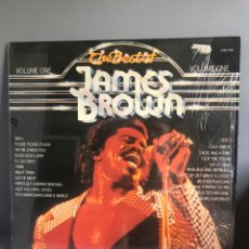Discos de vinilo: THE BEST OF JAMES BROWN.. Lote 171125254