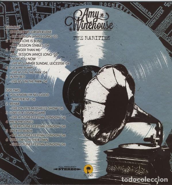 Discos de vinilo: Amy Winehouse – The Rarities - LP- - Foto 2 - 195067655