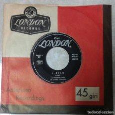 Discos de vinilo: PAT BOONE - RARO SINGLE EDICIÓN ITALIANA - DEAR JOHN / ALABAM. Lote 171130578