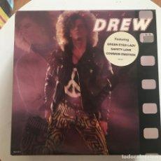 Discos de vinilo: DAVID DREW - S/T - LP MCA USA 1988. Lote 171132639