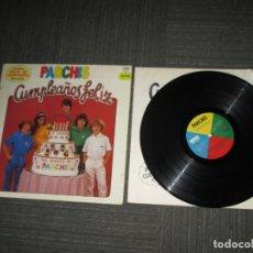 Disques de vinyle: PARCHIS - CUMPLEAÑOS FELIZ - SPAIN - BELTER - SIN MONTABLE - IBL - . Lote 171135314
