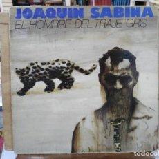 Discos de vinilo: JOAQUÍN SABINA - EL HOMBRE DEL TRAJE GRIS - LP. DEL SELLO ARIOLA 1988. Lote 171136388