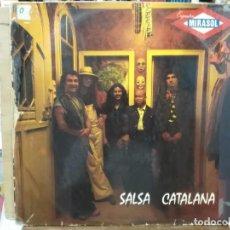 Discos de vinilo: ORQUESTA MIRASOL - SALSA CATALANA - LP. DEL SELLO EDIGSA 1974. Lote 171139707