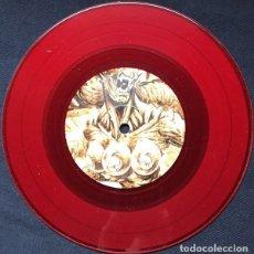 Discos de vinilo: LOS LÜGERS - 5C FREAKSHOW - HORROR PUNK SPLATTER MASSACRE VINILO 7 COLOR ROJO ROCK. Lote 171140695