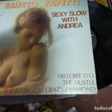 Discos de vinilo: FAUSTO PAPETTI / SEXI SLOW / LP 33 RPM SEXI NUDE . Lote 171147173