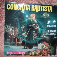 Discos de vinilo: SINGLE CONCHITA BAUTISTA. Lote 171148648