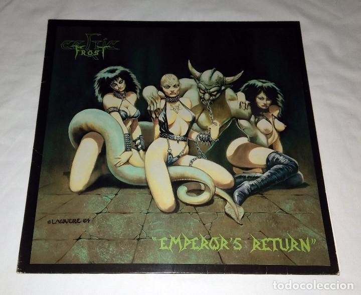 LP CELTIC FROST - EMPEROR´S RETURN (Música - Discos - LP Vinilo - Heavy - Metal)