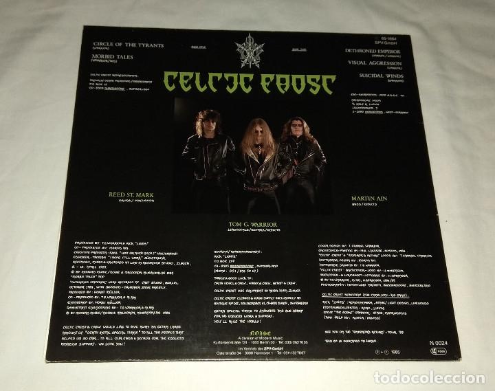Discos de vinilo: LP CELTIC FROST - EMPEROR´S RETURN - Foto 2 - 116587027