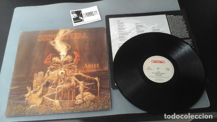 Discos de vinilo: Sepultura ?– Arise LP Roadracer Records ?– RO 9328-1 - Edición original 1991 - Foto 1 - 171157960