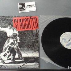 Discos de vinilo: SLAUGHTER ?– THE WILD LIFE LP CHRYSALIS ?– 068 32 1911 1 . Lote 171158192