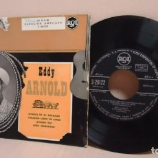 Disques de vinyle: EDDY ARNOLD -ESTARAS EN MI CORAZON -EP DE 4 CANCIONES --RCA- MADRID- . Lote 171158223