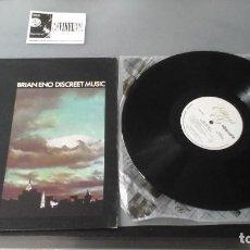 Discos de vinilo: BRIAN ENO ?– DISCREET MUSIC LP EDITIONS EG ?– EGS 303 EDICIÓN USA. Lote 171160312