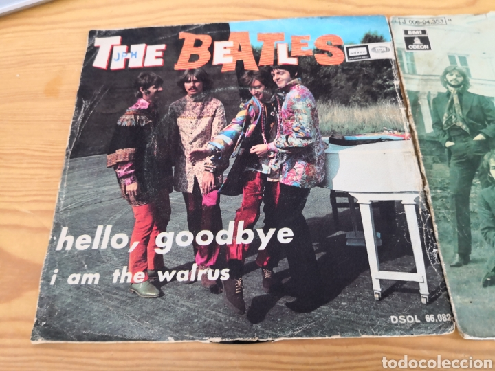 Discos de vinilo: 2 singles the beatles - Foto 2 - 171166213