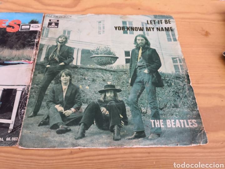 Discos de vinilo: 2 singles the beatles - Foto 3 - 171166213