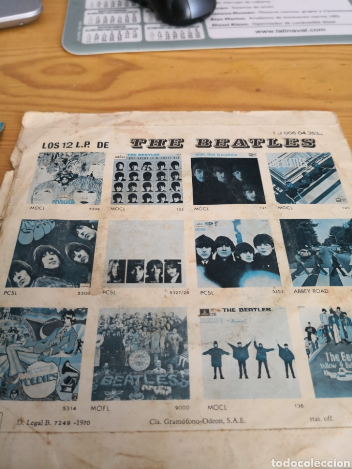 Discos de vinilo: 2 singles the beatles - Foto 5 - 171166213