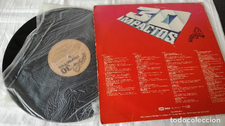 Discos de vinilo: 3-2 LP- 30 IMPACTOS, 1982 - Foto 3 - 171167093