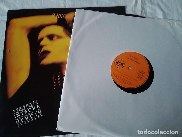 Discos de vinilo: 38-LP LOU REED , ROCK AND ROLL ANIMAL, 1977 - Foto 2 - 171167438