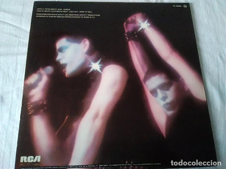Discos de vinilo: 38-LP LOU REED , ROCK AND ROLL ANIMAL, 1977 - Foto 4 - 171167438