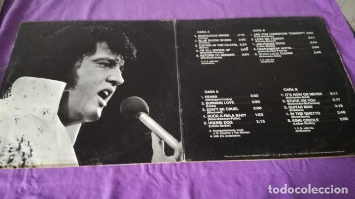 Discos de vinilo: 18-LP DOBLE-ELVIS PRESLEY para los fans españoles - Foto 2 - 171167632