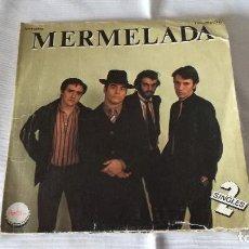 Discos de vinilo: 10-SINGLE MERMELADA, 2 SINGLES, COGE EL TREN, 1979, ZAFIRO. Lote 171167979
