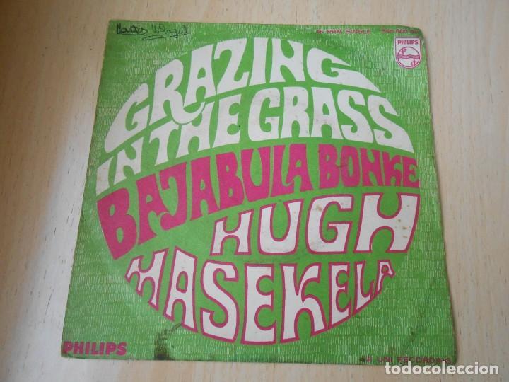 HUGH MASEKELA, SG, GRAZING IN THE GRASS + 1, AÑO 1968 (Música - Discos - Singles Vinilo - Pop - Rock Internacional de los 50 y 60)