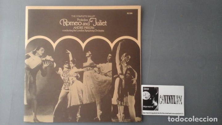 Discos de vinilo: Prokoviev, Andre Previn ?– Romeo And Juliet (The Complete Ballet) Caja His Masters Voice - Foto 3 - 171175158